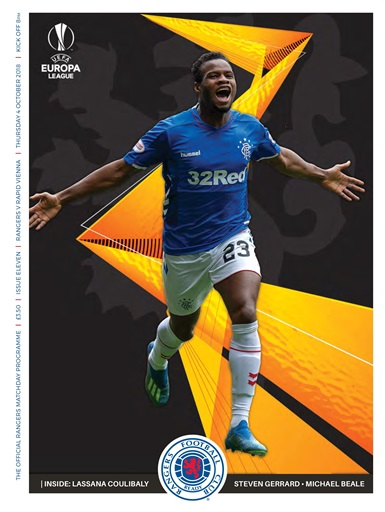 Rangers Football Club Matchday Programme Preview