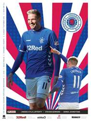Rangers Football Club Matchday Programme issue Rangers v Hearts