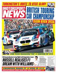 Motorsport News issue 17th October 2018