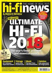 Hi-Fi News issue Yearbook 2018