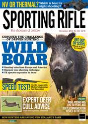 Sporting Rifle issue November 2018