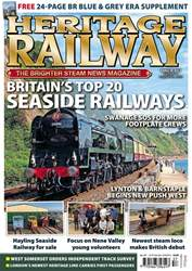 Heritage Railway Magazine Cover