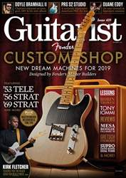 Guitarist issue November 2018