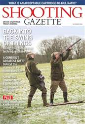 Shooting Gazette issue November 2018
