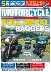 Motorcycle Sport & Leisure Magazine Cover