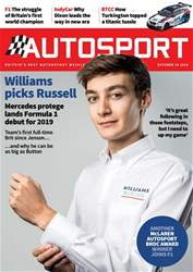 Autosport issue 18th October 2018