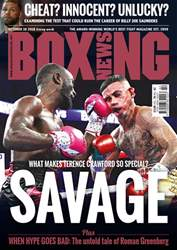 Boxing News issue 16/10/2018
