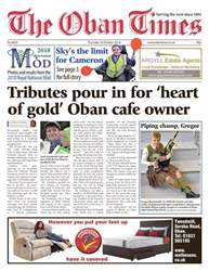 The Oban Times & Lochaber Times issue 18 October 2018