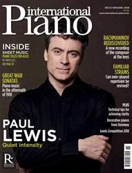 International Piano issue Nov / Dec 2018