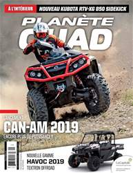 Planète Quad issue Octobre/ Novembre 2018
