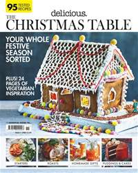 Delicious Magazine issue The Christmas Table