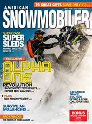 American Snowmobiler issue December 2018