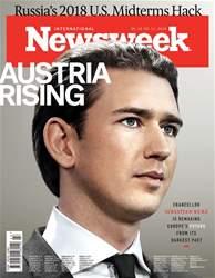 Newsweek International Magazine Cover