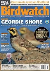 Birdwatch Magazine issue November 2018
