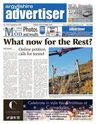Argyllshire Advertiser issue 19/10/18