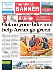 Arran Banner Magazine Cover