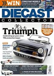 Diecast Collector issue December 2018