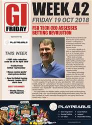 The Gambling Insider Friday issue The Gambling Insider Friday