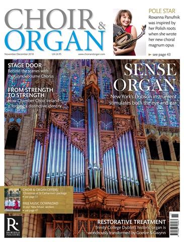 Choir & Organ issue Nov / Dec 2018