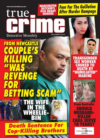 True Crime issue True Crime November 2018