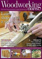 Woodworking Crafts Magazine issue November 2018