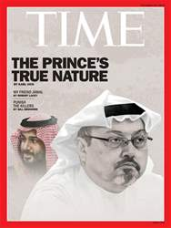 Time Magazine issue 29th October 2018