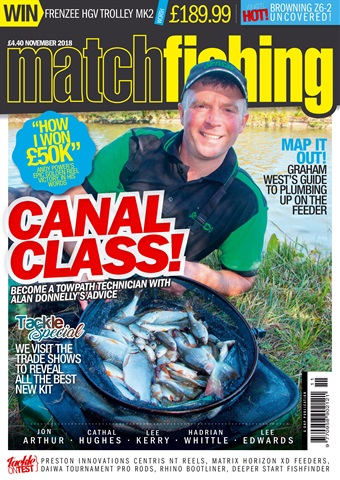 Match Fishing issue November 2018