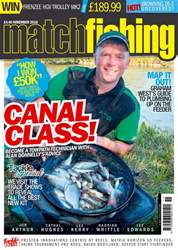 Match Fishing issue November 2018