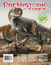 Prehistoric Times issue Prehistoric Times magazine #127 Fall 2018