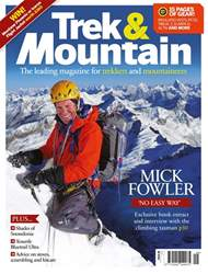Trek & Mountain Magazine issue Sep-Oct 18