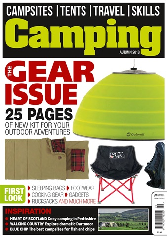 Camping issue Autumn