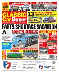 Classic Car Buyer issue 24th October 2018
