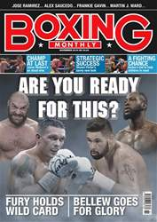 Boxing Monthly issue November 2018