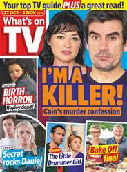 What's on TV issue 27th October 2018