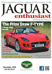 Jaguar Enthusiast issue November 2018