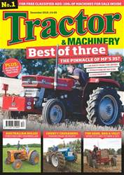 Tractor & Machinery issue December 2018