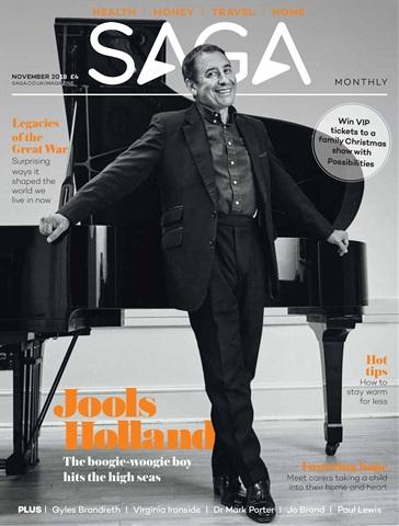 Saga Magazine issue November 2018