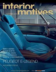 Interior Motives issue Autumn 2018