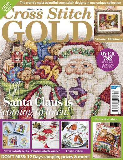 12 Days Of Christmas Cross Stitch.Cross Stitch Gold Magazine