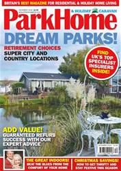 Park Home & Holiday Caravan issue December 2018