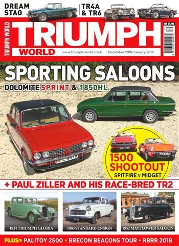 Triumph World issue Dec-Jan 2019