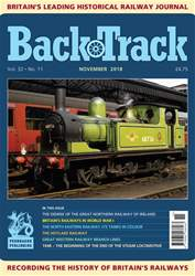 Backtrack issue November 2018