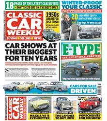 Classic Car Weekly issue 24th October 2018