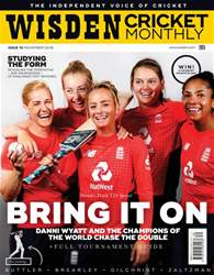Wisden Cricket Monthly issue November 2018