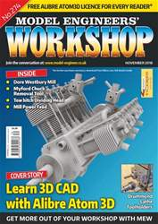 Model Engineers' Workshop Magazine issue Nov-18