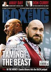 Boxing News issue 23/10/2018