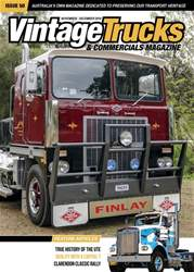 Vintage Trucks & Commercials Magazine Cover
