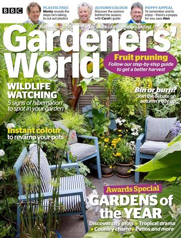 Gardeners' World issue November 2018
