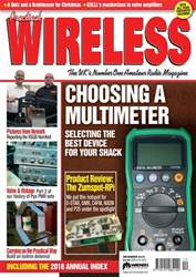 Practical Wireless issue December 2018