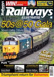 Railways Illustrated issue   December 2018